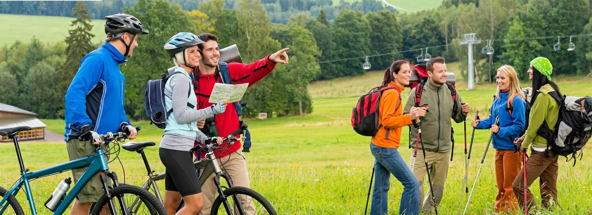 Sportliche Aktivitäten gemeinsam erleben