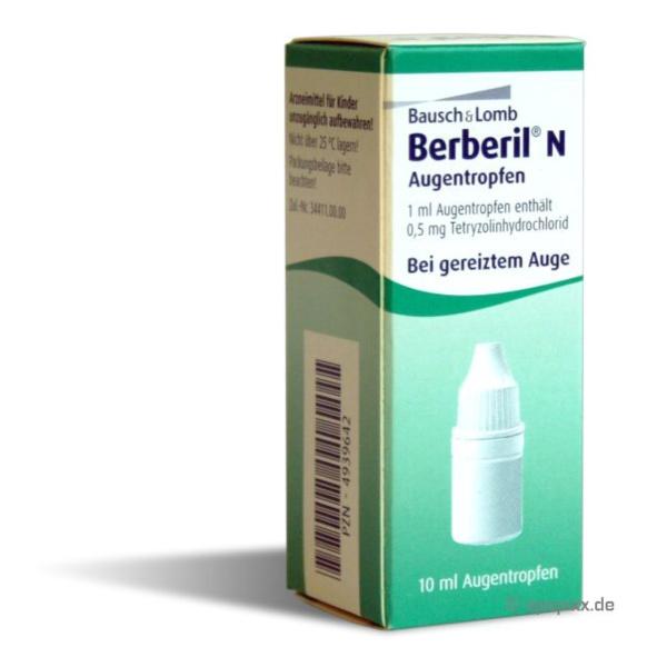 Berberil N AT, 10ml Preisvergleich
