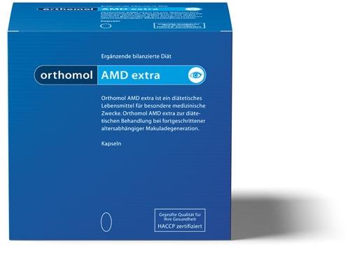 Orthomol AMD extra, 120 Kapseln Preisvergleich