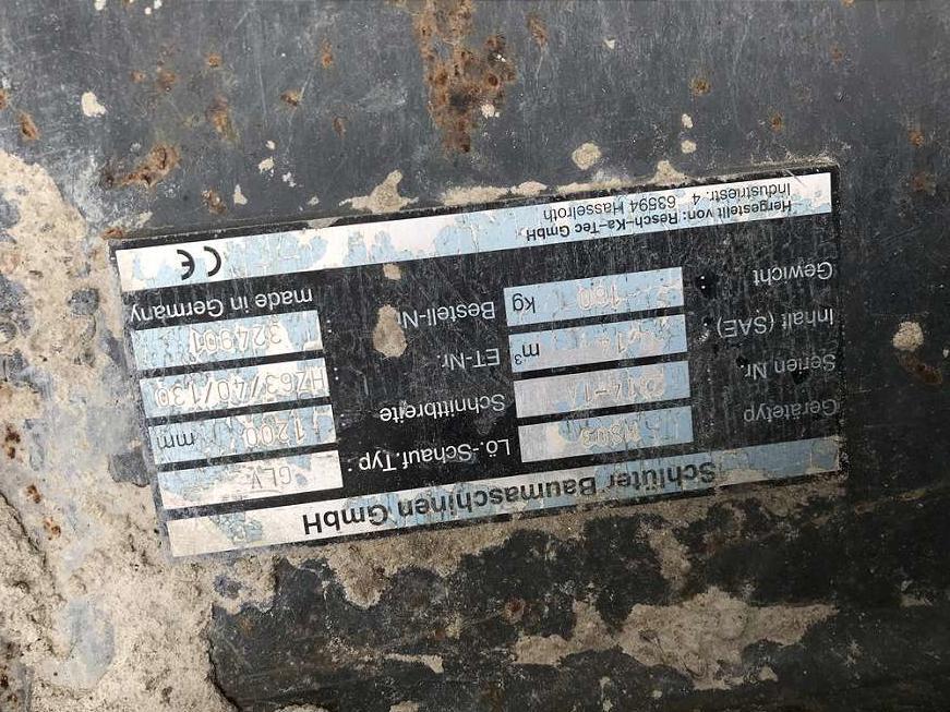 RESCH-KA-TEC 120 CM GRABENRÄUMLÖFFEL MS03, HYDR. - 03