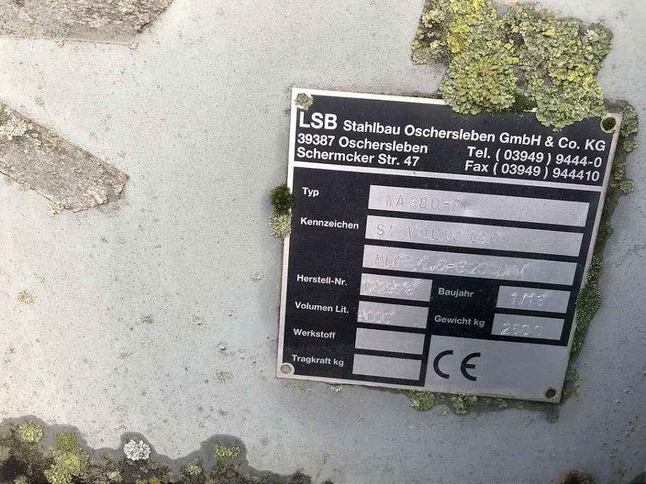 LSB 9,0 CBM SCHAUFEL, SW-SKAN, 3.200 MM - 04