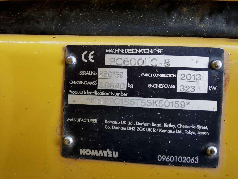 KOMATSU PC 600 LC-8 - 21