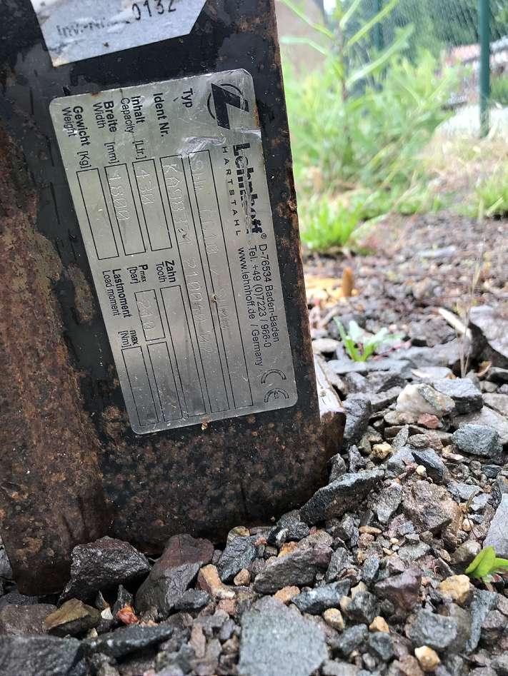 LEHNHOFF 180 CM GRABENRÄUMLÖFFEL, MS 08, HYDR. - 03