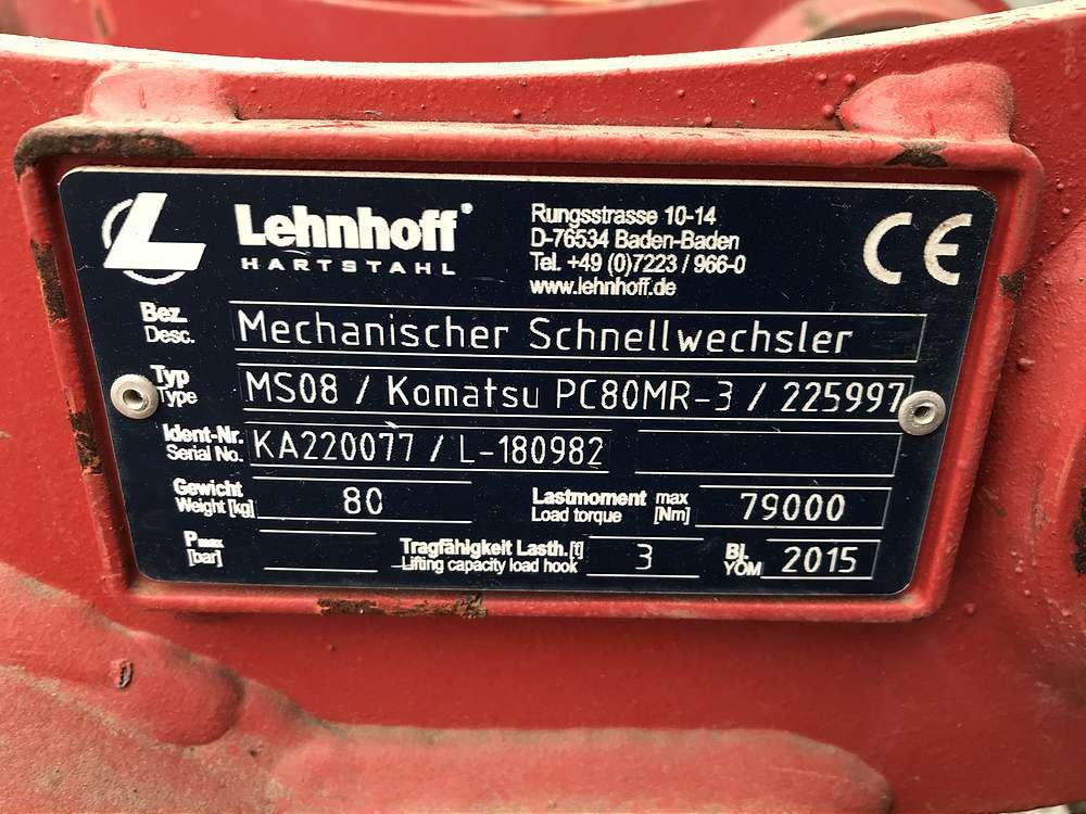 LEHNHOFF SCHNELLWECHSLER MS08 - 03