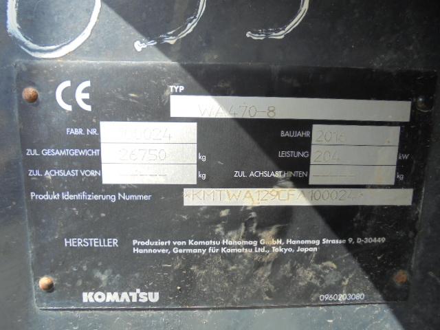 KOMATSU WA 470-8 - 17