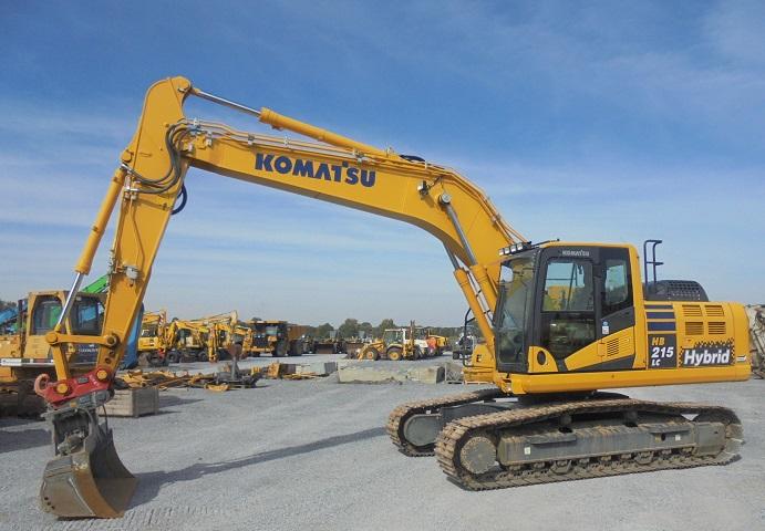 KOMATSU HB 215 LC-2 - 01