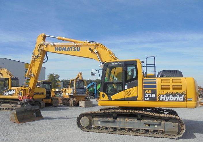 KOMATSU HB 215 LC-2 - 02