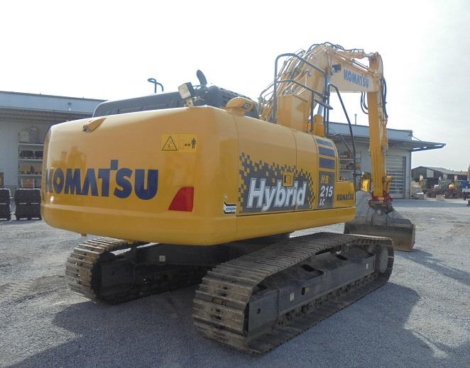 KOMATSU HB 215 LC-2 - 04