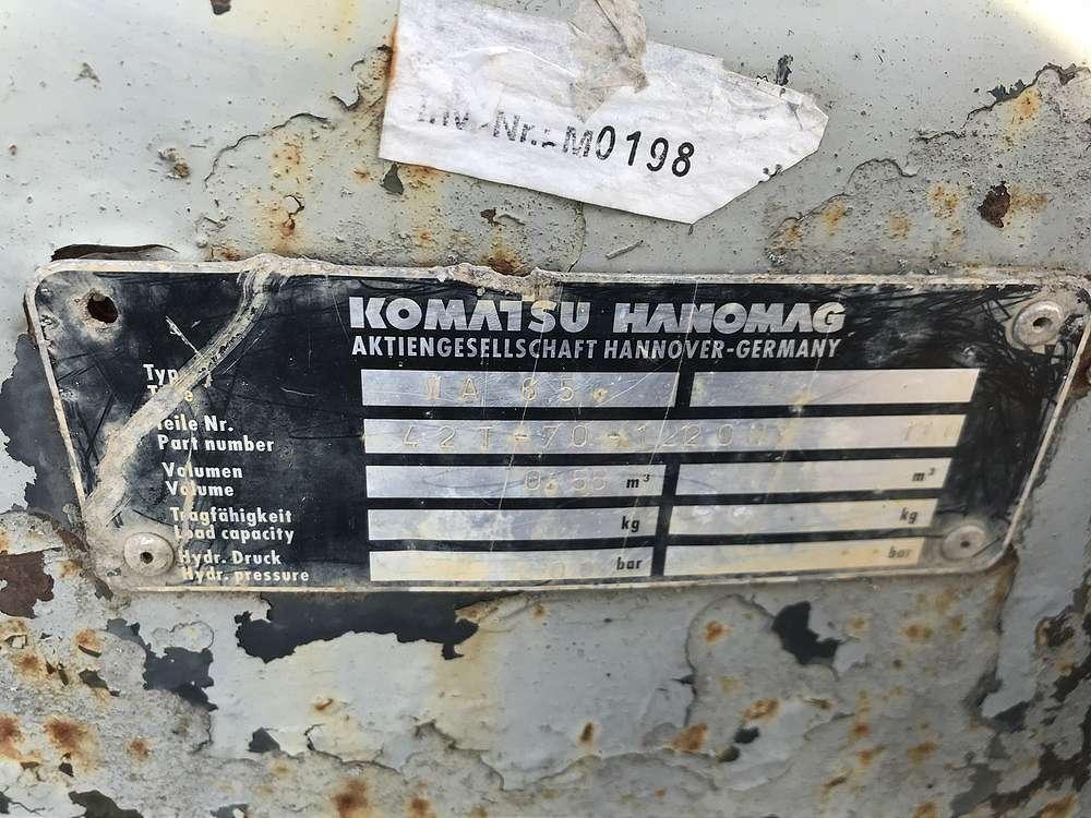 KOMATSU 0,55 CBM MEHRZWECKSCHAUFEL, 1.850 MM - 04