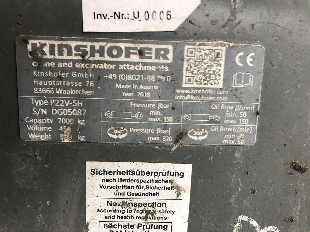 KINSHOFER MEHRSCHALENGREIFER P22V-5-H - 03