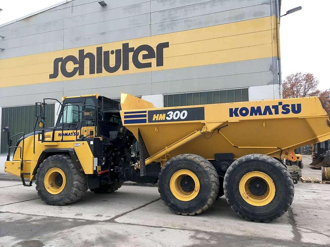 KOMATSU HM 300-5 - 01
