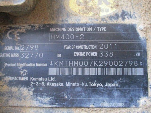 KOMATSU HM 400-2 - 10