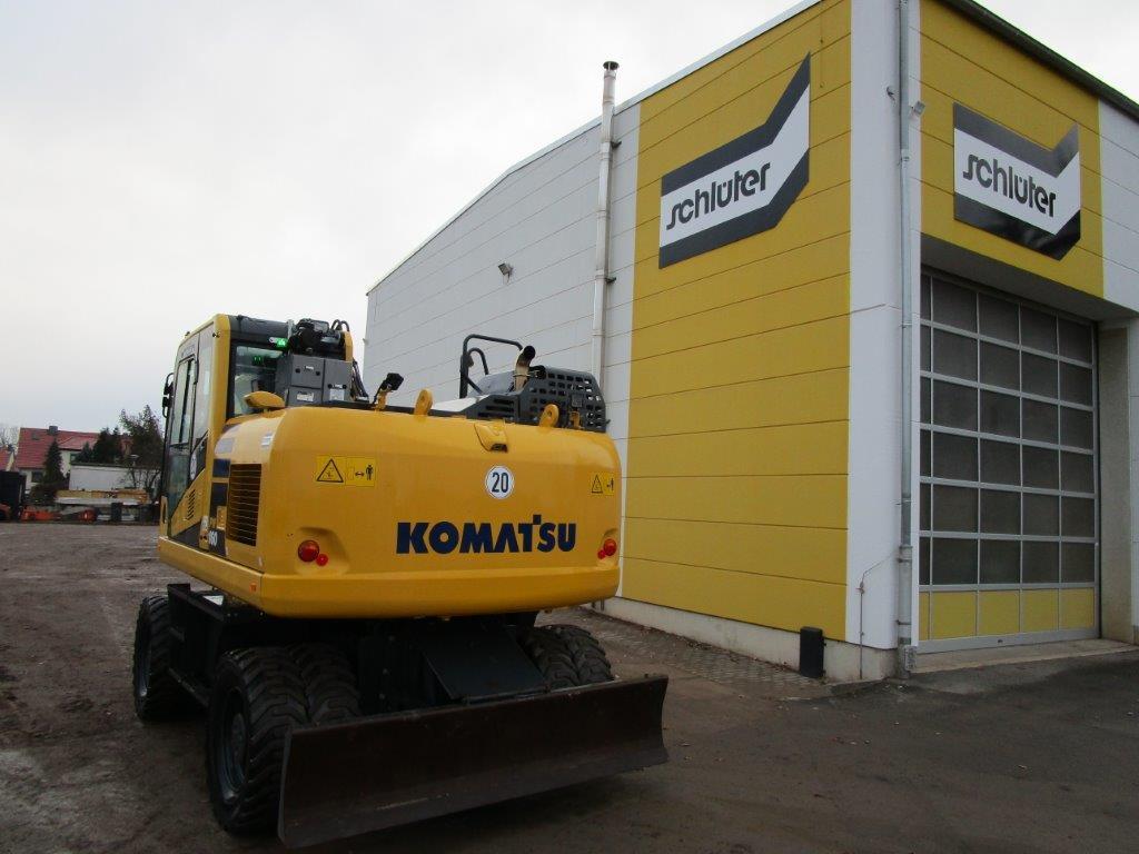 KOMATSU PW 160-11 - 05
