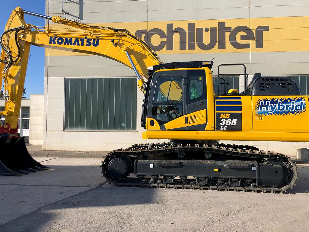 KOMATSU HB 365 LC-3 - 01