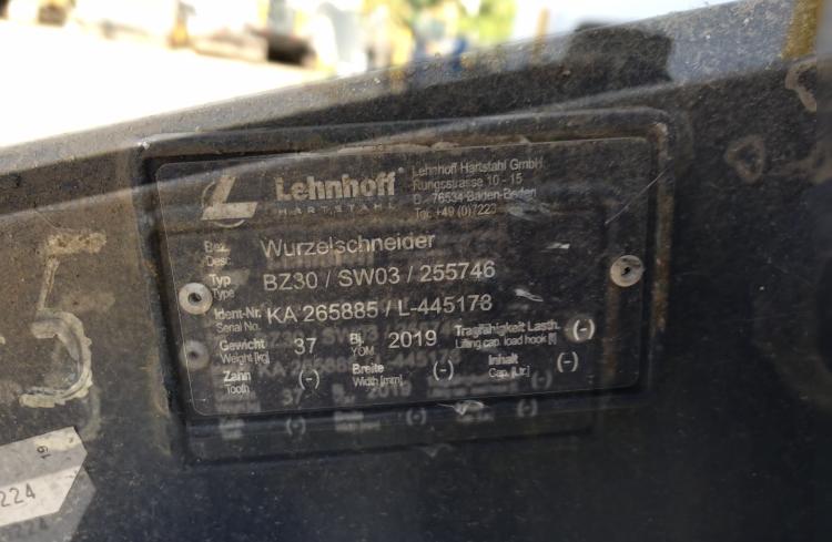 LEHNHOFF BIBERZAHN WURZELSCHNEIDER BZ30, MS 03 - 03
