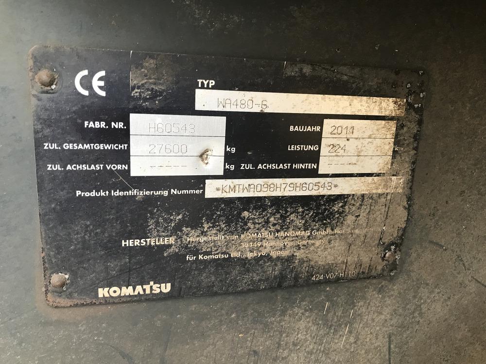 KOMATSU WA 480 LC-6 - 09