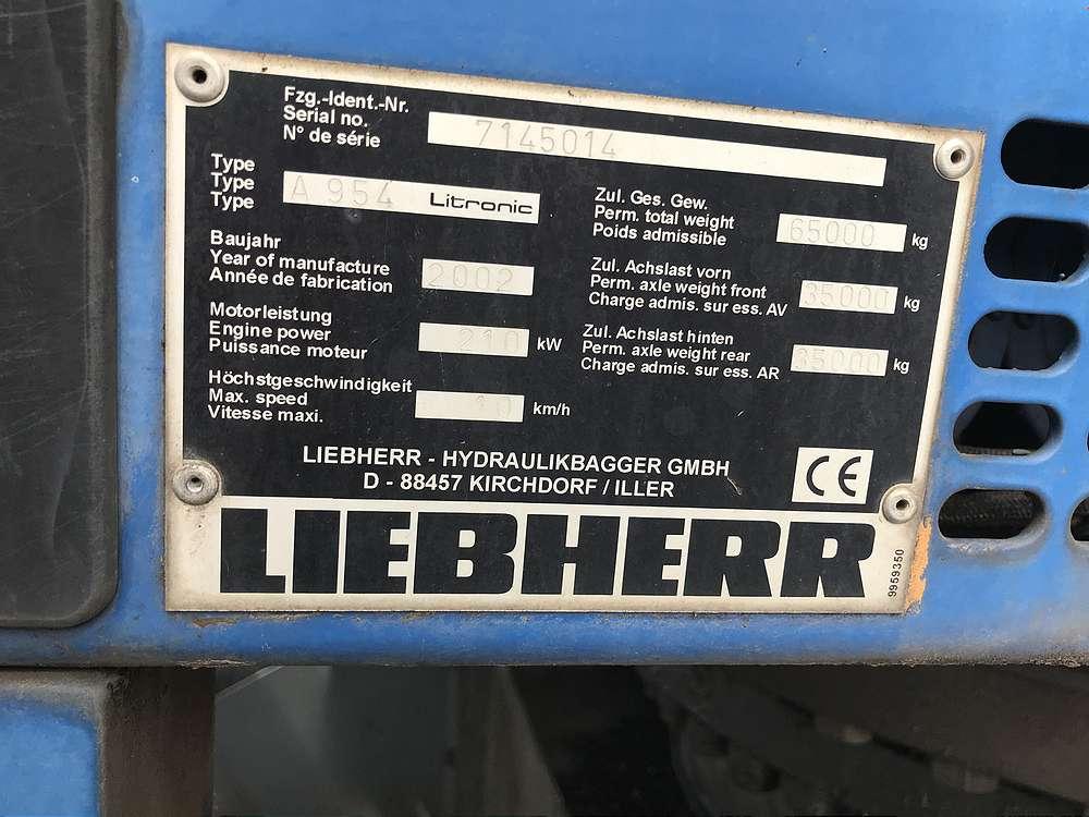 LIEBHERR LH 954 - 07