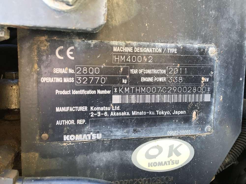 KOMATSU HM 400-2 - 14
