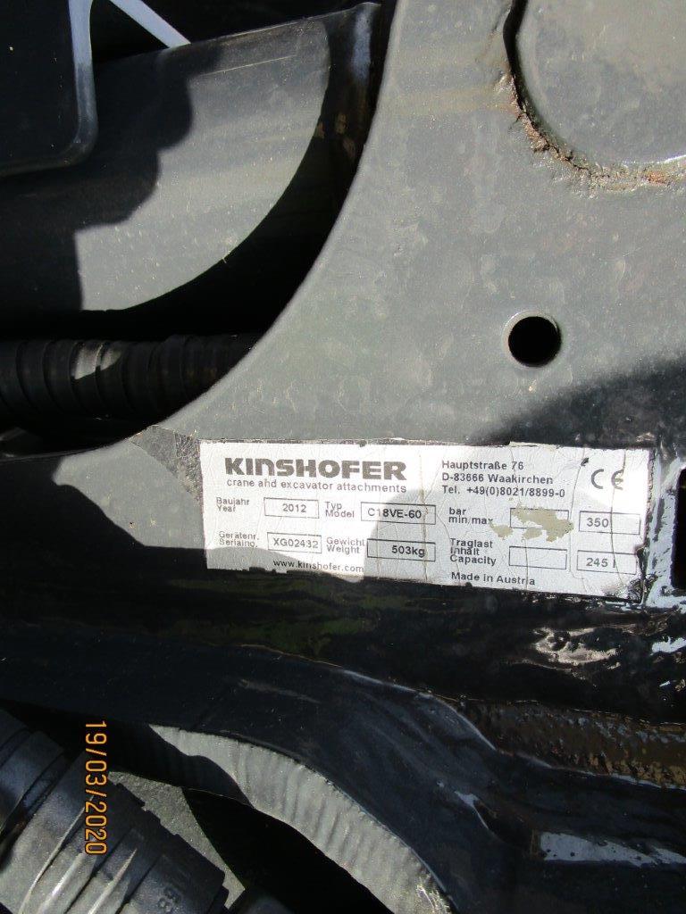 KINSHOFER GREIFER C18VE-80 INKL. OQ65 ADAPTER - 05