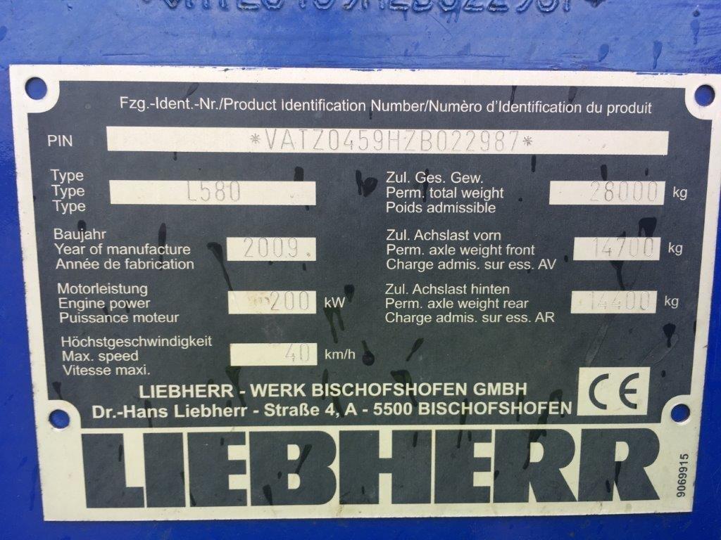 LIEBHERR L 580 - 20
