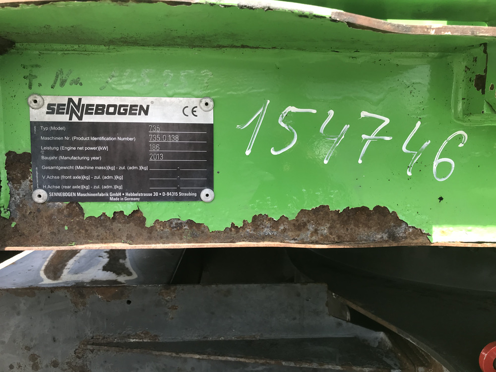 SENNEBOGEN 735 M-HD - 09