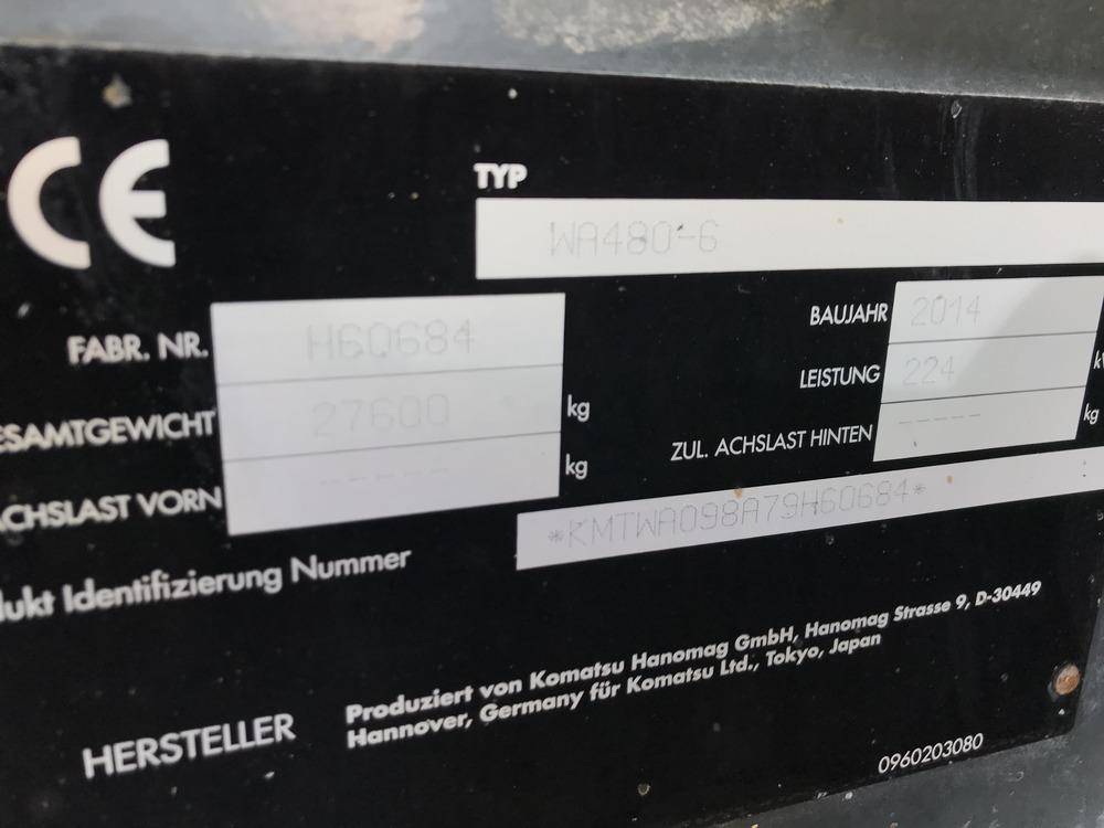 KOMATSU WA 480 LC-6 - 21
