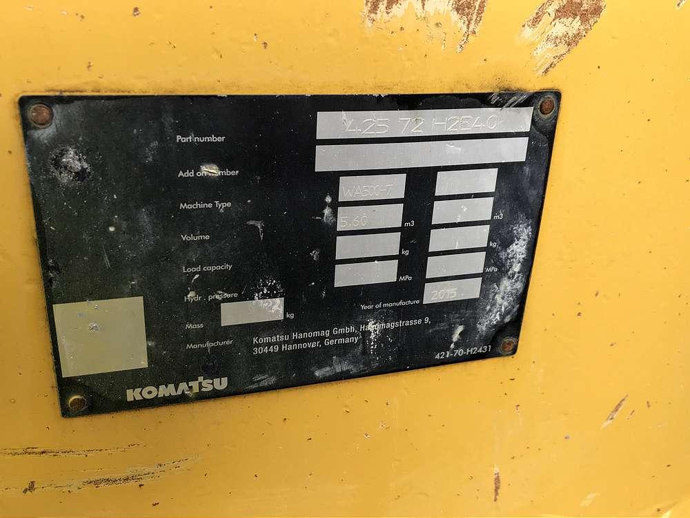 KOMATSU 5,6 CBM SCHAUFEL, 3.480 MM BREIT - 05