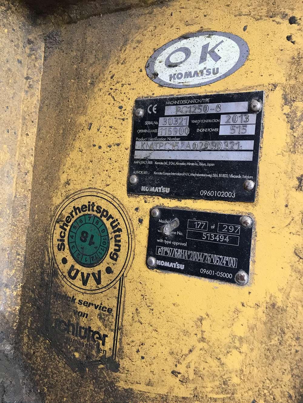 KOMATSU PC 1250-8 - 14