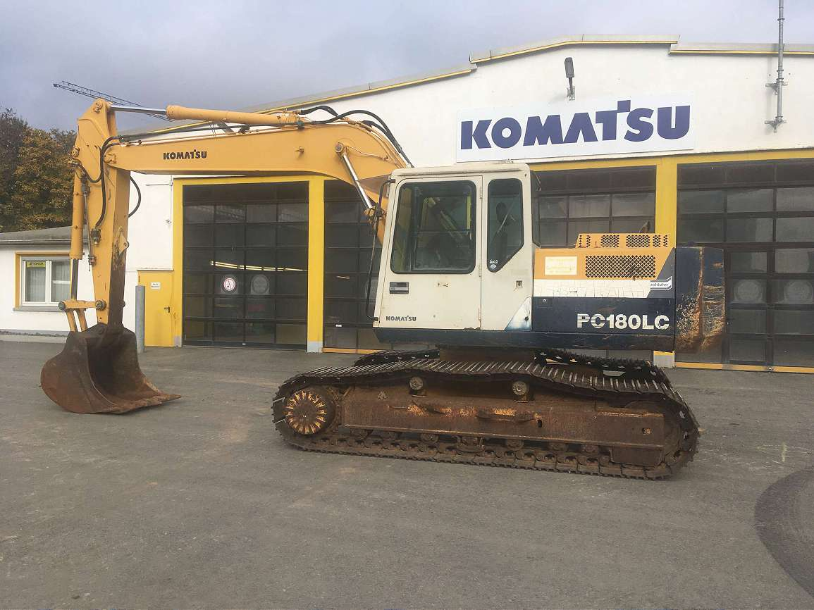 KOMATSU PC 180 LC-5K - 01