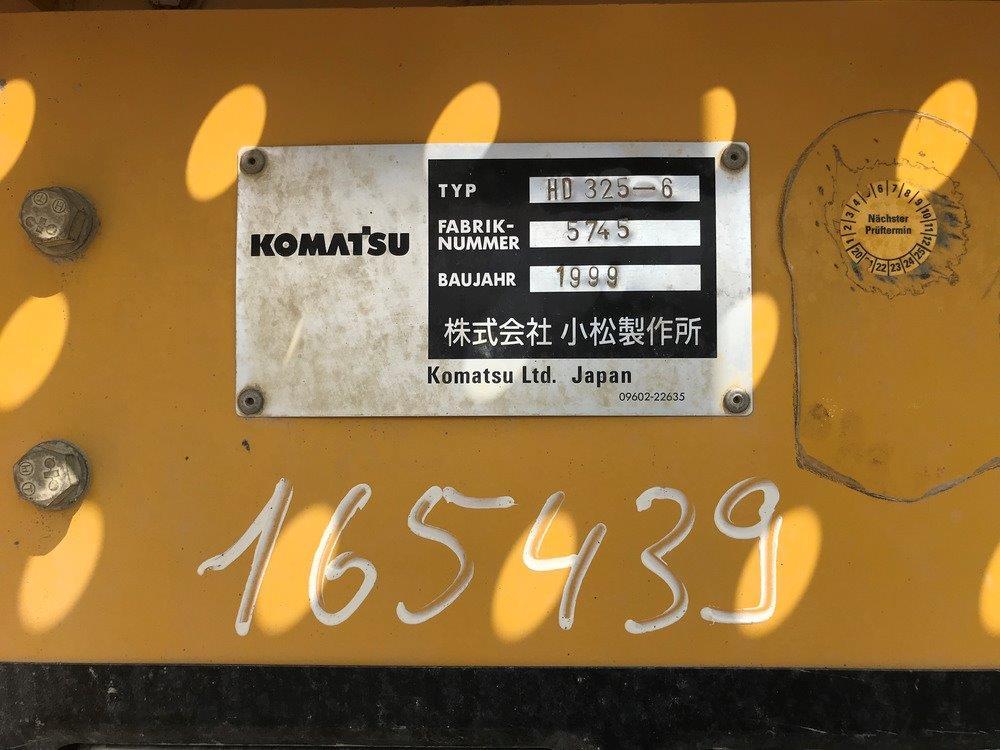 KOMATSU HD 325-6A - 09