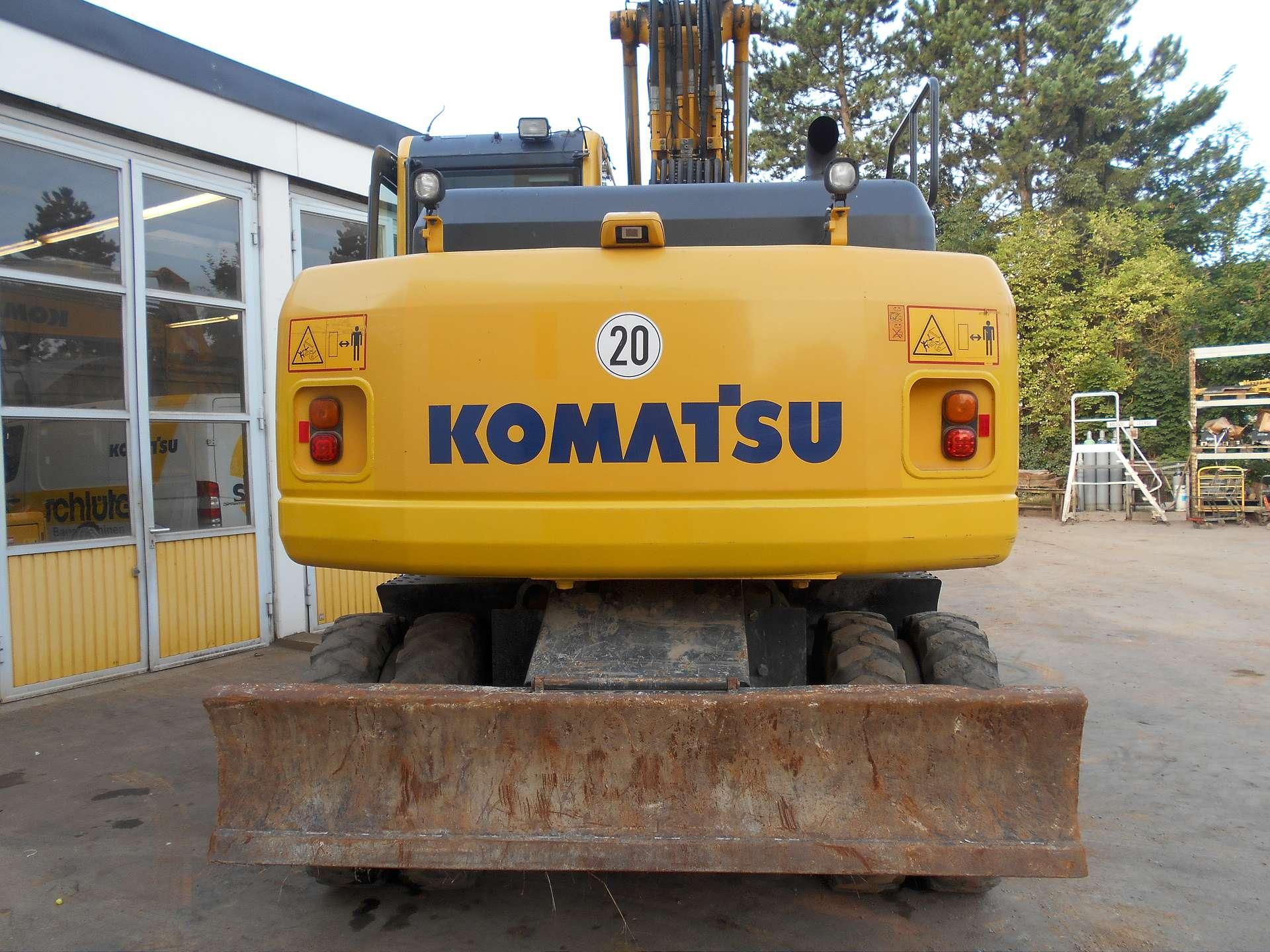 KOMATSU PW 160-8 - 08