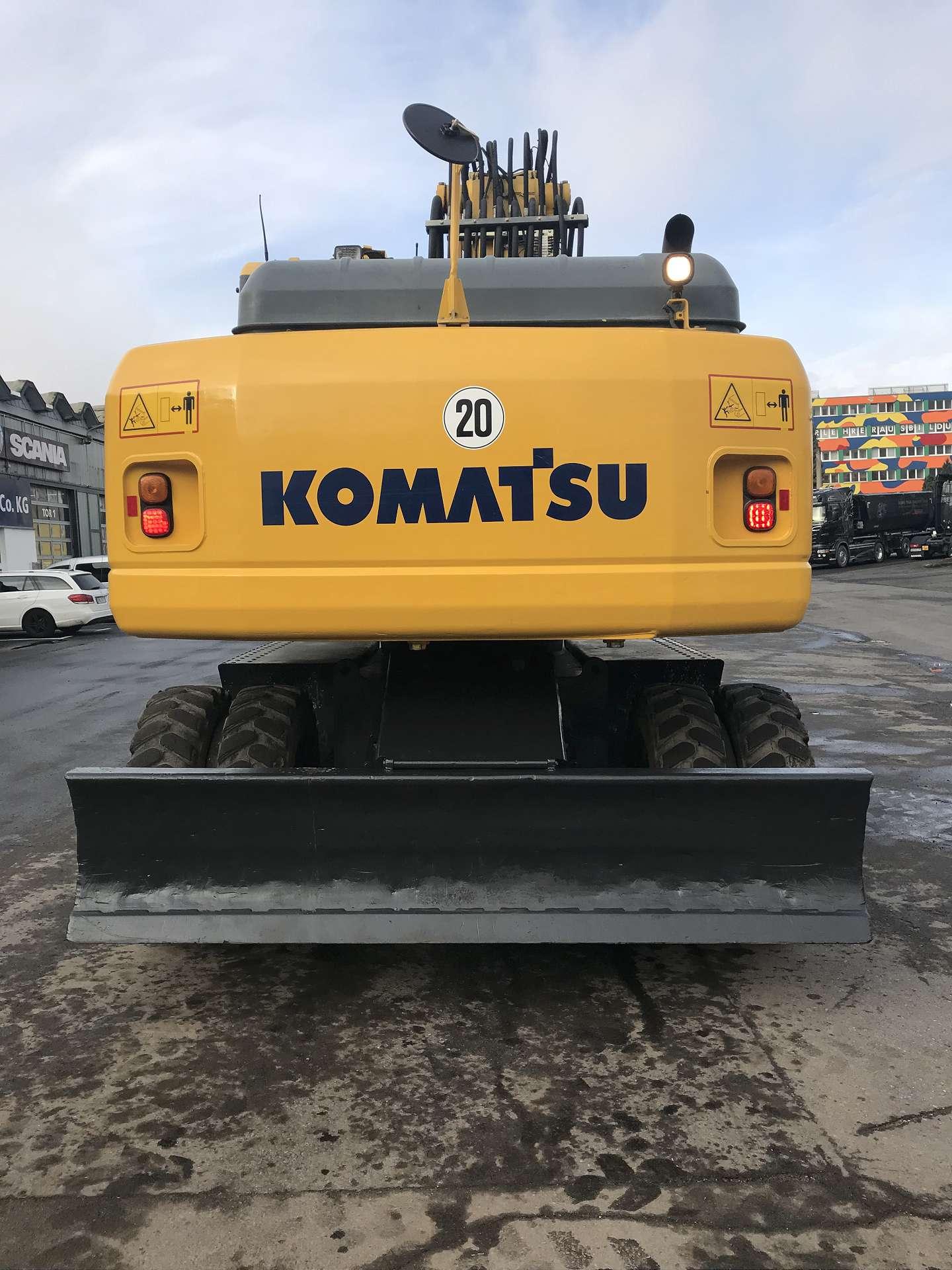 KOMATSU PW 200-7E0H - 05