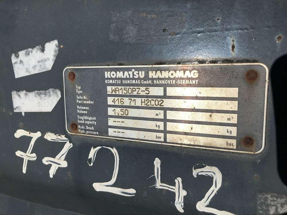 KOMATSU 1,5 CBM SCHAUEFL, 2.400 MM - 03