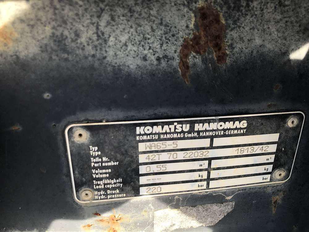 KOMATSU 0,55 CBM MEHRZWECKSCHAUFEL - 04