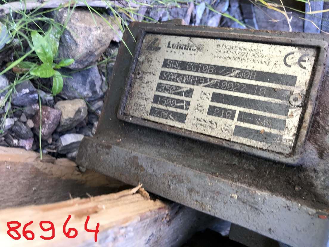LEHNHOFF 150 CM GRABENRÄUMLÖFFEL HYDR. MS 08 - 03