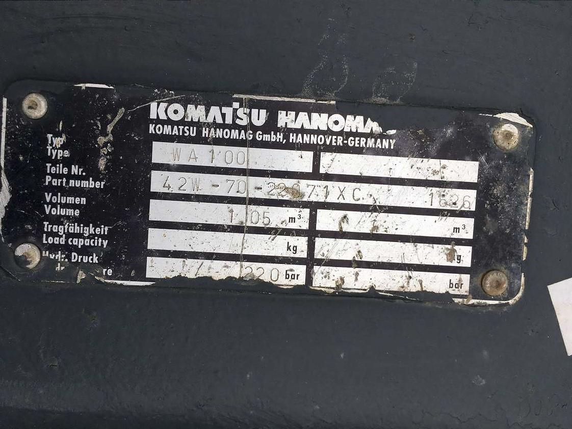 KOMATSU 1,05 CBM GREIFERSCHAUFEL - 05