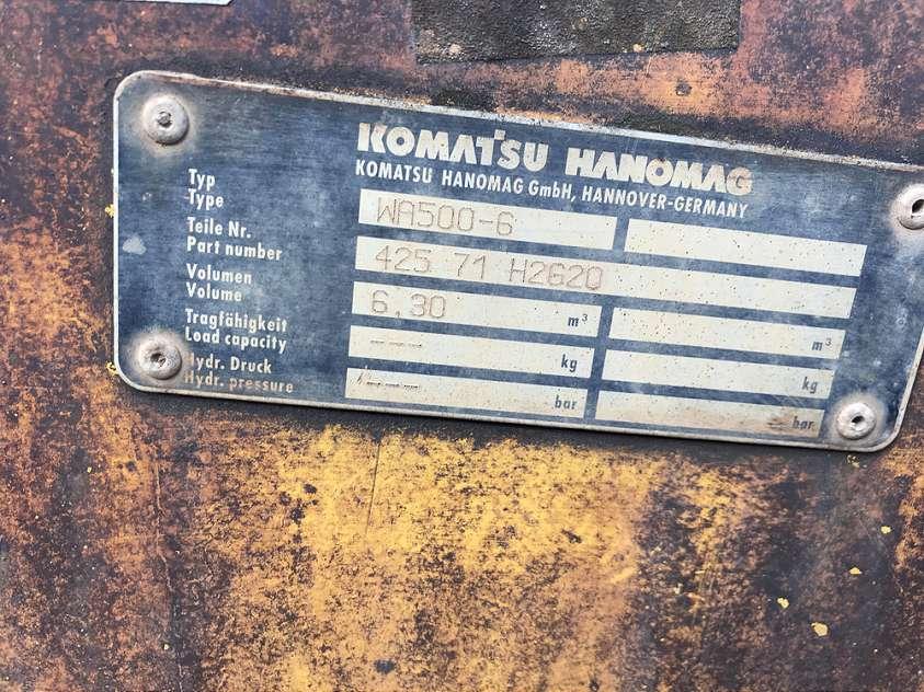 KOMATSU 6,3 CBM SCHAUFEL, 3.460 MM BREIT - 04