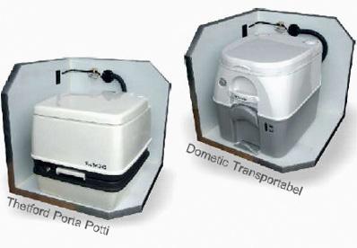 und Dometic Transportabel