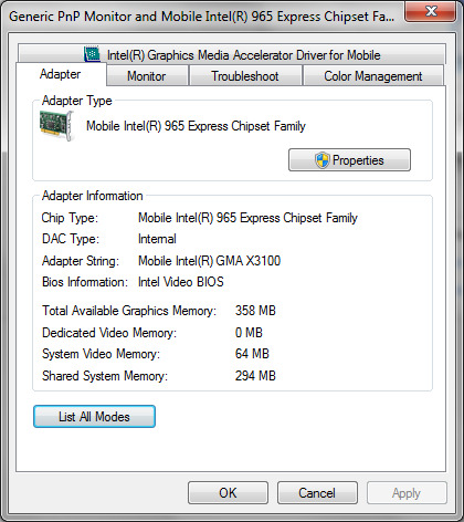 Download driver intel 965 graphic download driver laptop.