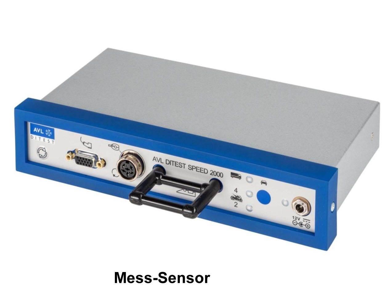 AVL Dispeed 2000 Universal  Universale Drehzahlerfassung  inklusive Universaladapter und Netzgerät inklusive USB-Schnittstelle