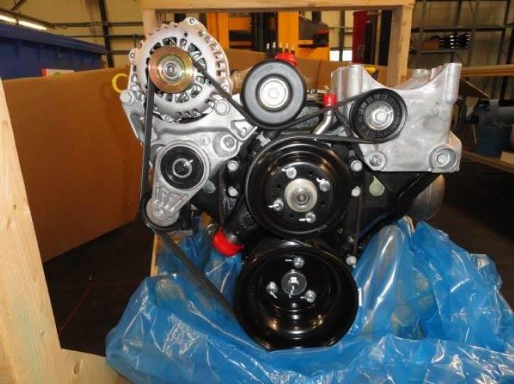 GM-Motor 4,3L mit Anbauteile