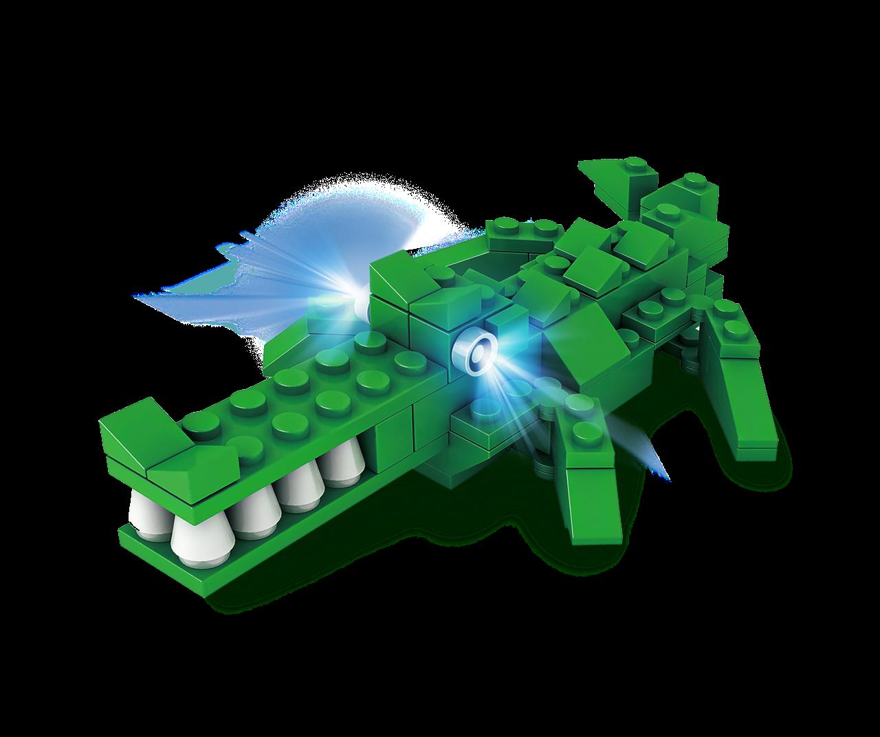 STAX® Krokodil - LEGO®-kompatibel