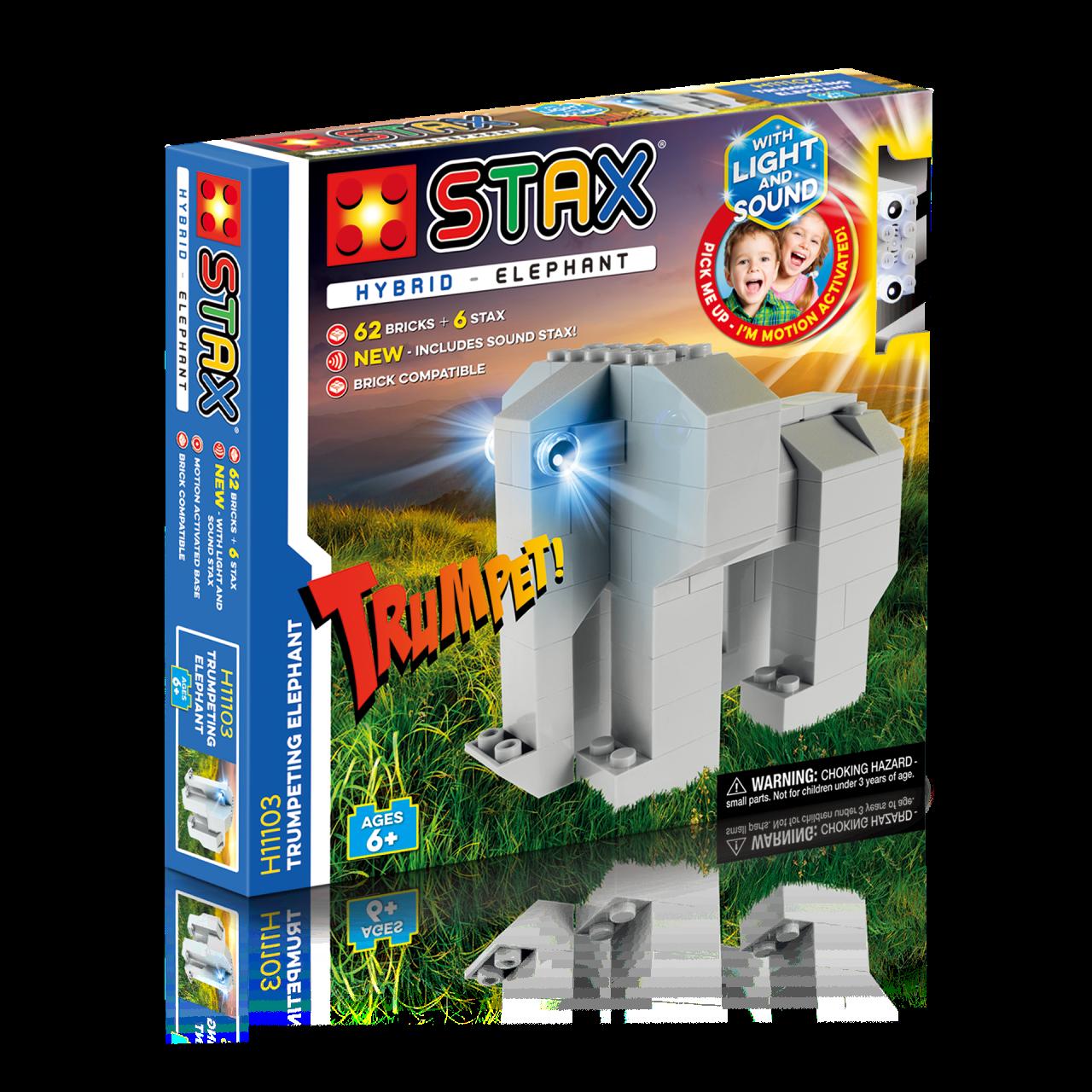 STAX® Elefant - LEGO®-kompatibel