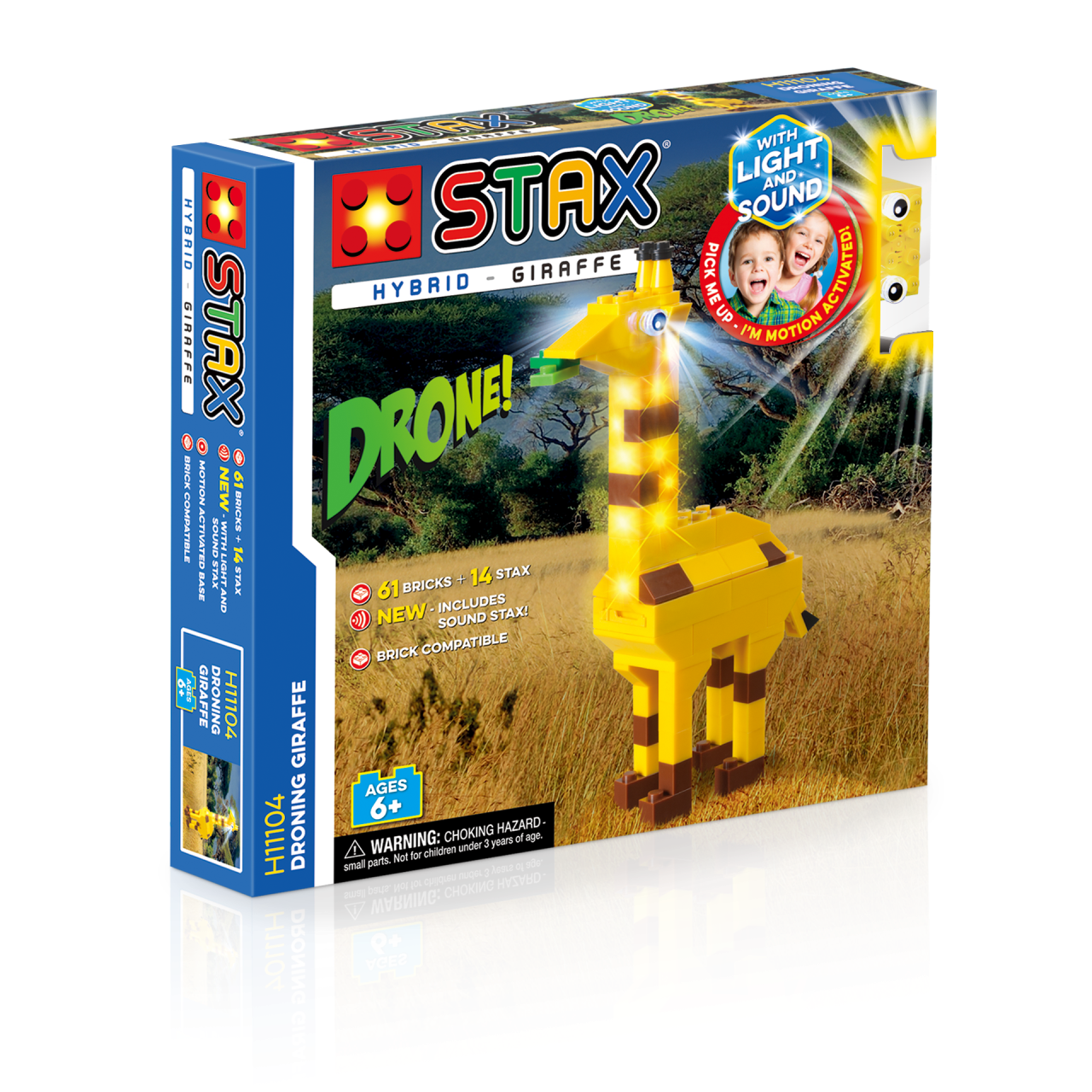 STAX® Giraffe - LEGO®-kompatibel