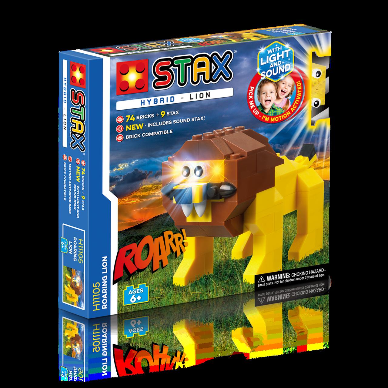 STAX® Löwe - LEGO®-kompatibel