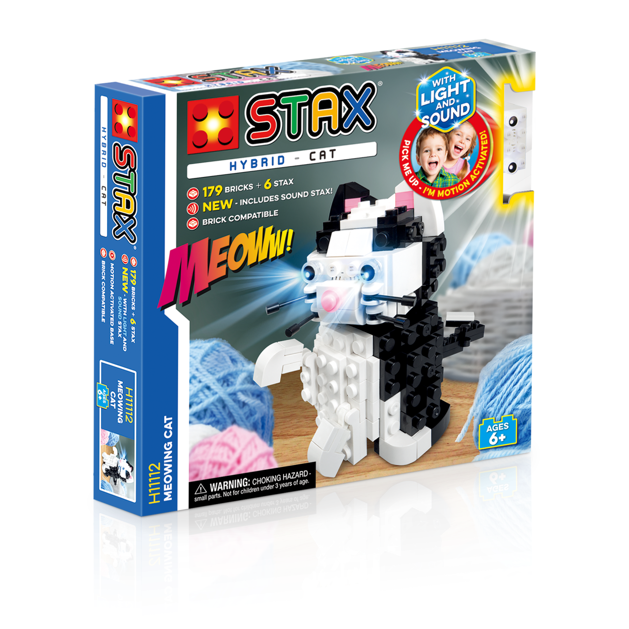 STAX® Katze - LEGO®-kompatibel
