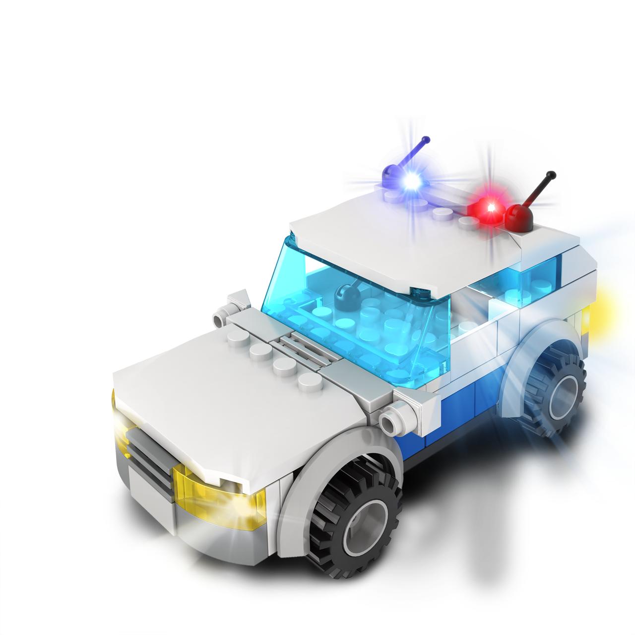 STAX ® Polizeiauto - LEGO®-kompatibel