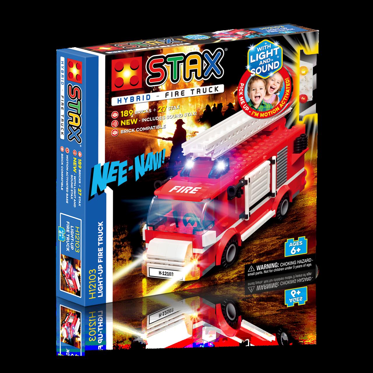 STAX® Feuerwehrwagen - LEGO®-kompatibel