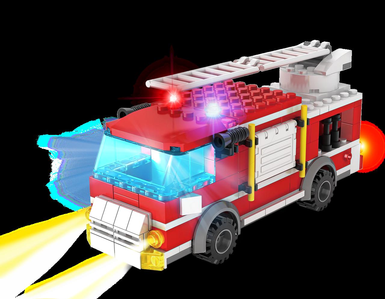 STAX ® Feuerwehrwagen - LEGO®-kompatibel