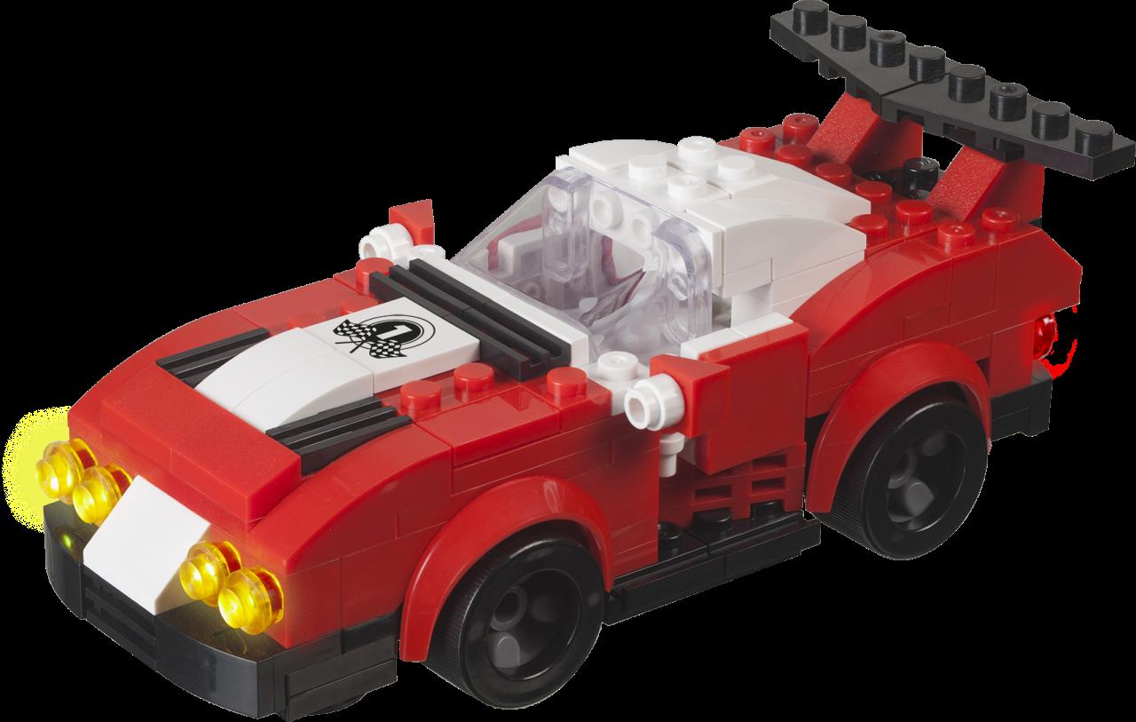 STAX® Rennwagen - LEGO®-kompatibel